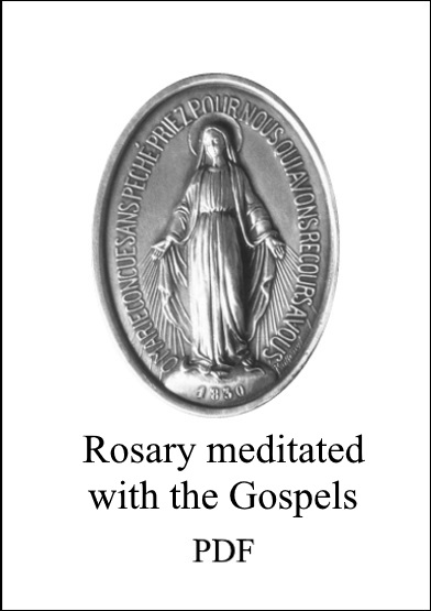 Rosary meditated with Gospels  PDF